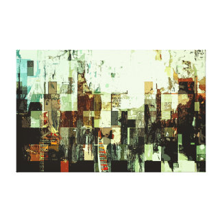 Digital Decay Canvas Print