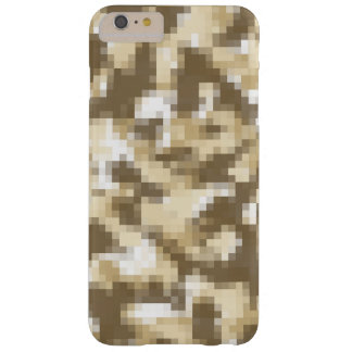 Digital Desert Camo Barely There iPhone 6 Plus Case