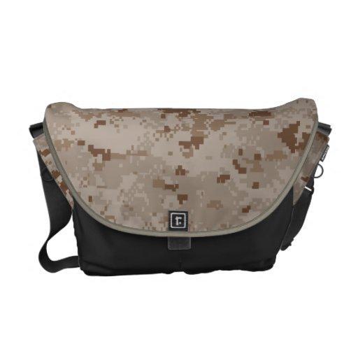 Digital Desert Camouflage Commuter Bags