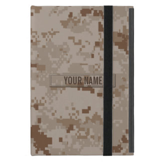 Digital Desert Camouflage Customizable Covers For iPad Mini