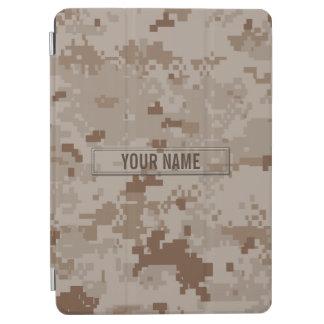 Digital Desert Camouflage Customizable iPad Air Cover