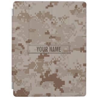 Digital Desert Camouflage Customizable iPad Cover