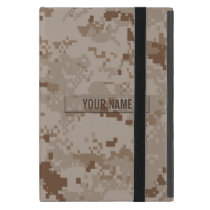 Digital Desert Camouflage Customizable iPad Mini Cover