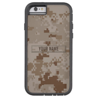 Digital Desert Camouflage Customizable Tough Xtreme iPhone 6 Case