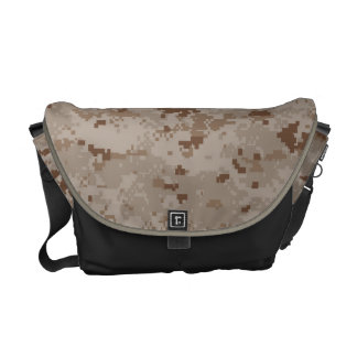 Digital Desert Camouflage Messenger Bag