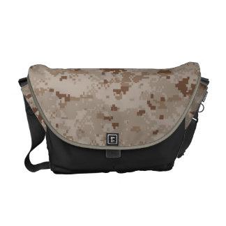 Digital Desert Camouflage Courier Bag