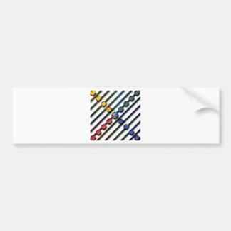 Digital design bumper sticker