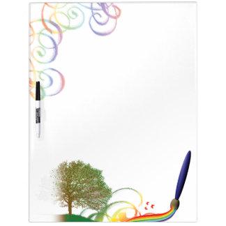 Digital Design Dry Erase Board