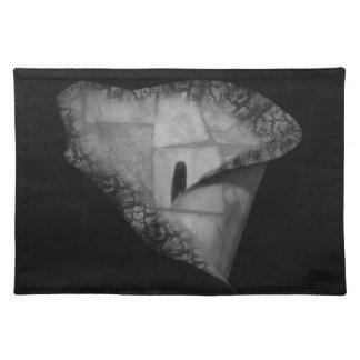 Digital Design Flower Placemat Cloth Placemat