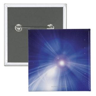 Digital Design Shining Star Pinback Buttons