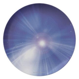 Digital Design Shining Star Dinner Plate