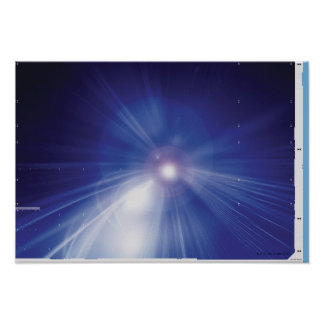 Digital Design Shining Star Poster