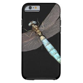 Digital Dragonfly on Black Tough iPhone 6 Case