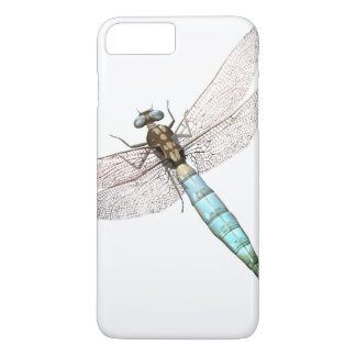 Digital Dragonfly on White iPhone 8 Plus/7 Plus Case
