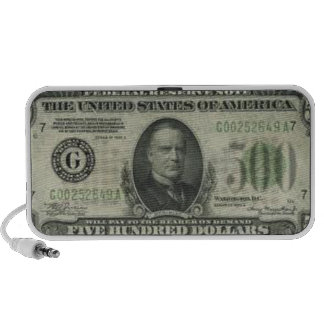 "digital DzynR's ""$500 DOLLAZ""  Mini Speakers"