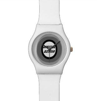 "digital DzynR's ""BLACK CIRCLE"" Watch"