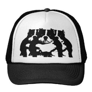 """digital DzynR's """"BULL DAWGZ"""" Ball Caps Trucker Hat"""