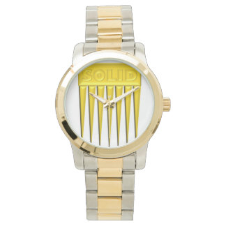 "digital DzynR's ""SOLID GOLD PICK"" Watch"
