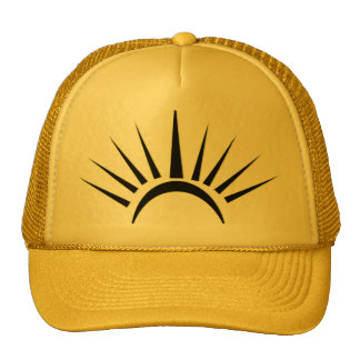 "digital DzynR's ""SUNSTROKE"" Ball Cap Trucker Hat"