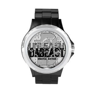 """digital DzynR's """"UNLEASH DA BEAST"""" Watch"""