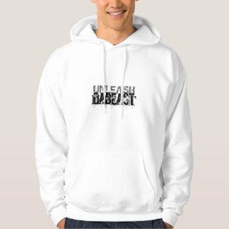 """digital DzynR's """"UNLEASH DABEAST"""" Hoodie"""