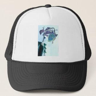 Digital Effect Rose Trucker Hat