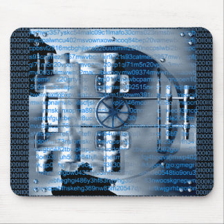 Digital encryption mouse pad