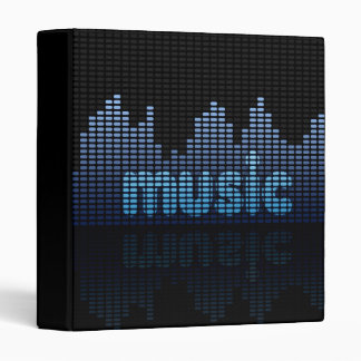 Digital Equalizer Music Wall - Binder