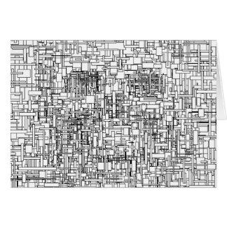 Digital Existence / Skull Card