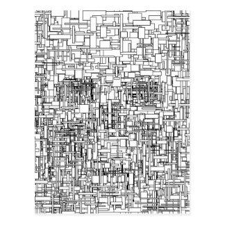 Digital Existence / Skull Postcard