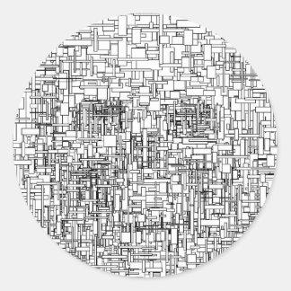 Digital Existence / Skull Stickers