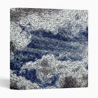 Digital Expressionism: Storm Cloud Approach 3 Ring Binder