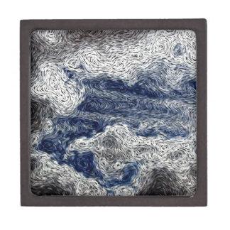 Digital Expressionism: Storm Cloud Approach Jewelry Box