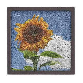 Digital Expressionism: Sunflower Premium Gift Box