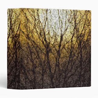 Digital Expressionism: Sunlight in Branches Binder
