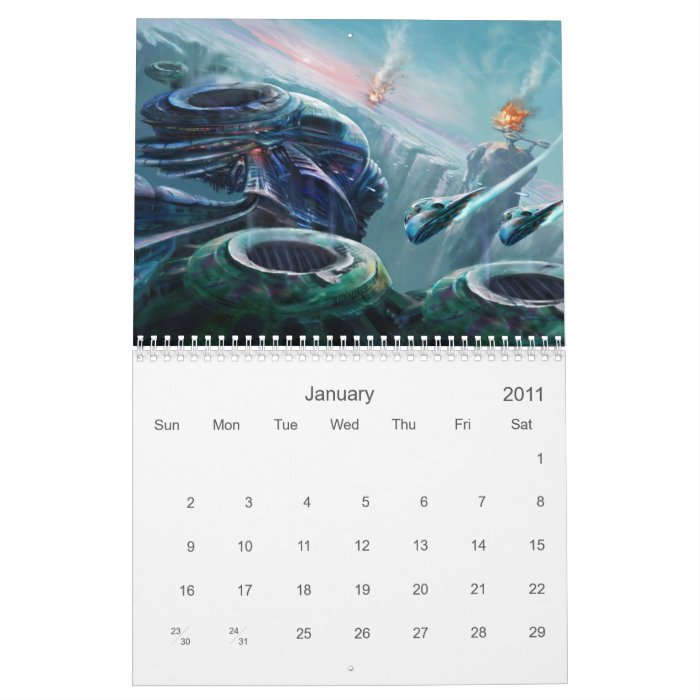 Digital Fantasy Collection Calendar