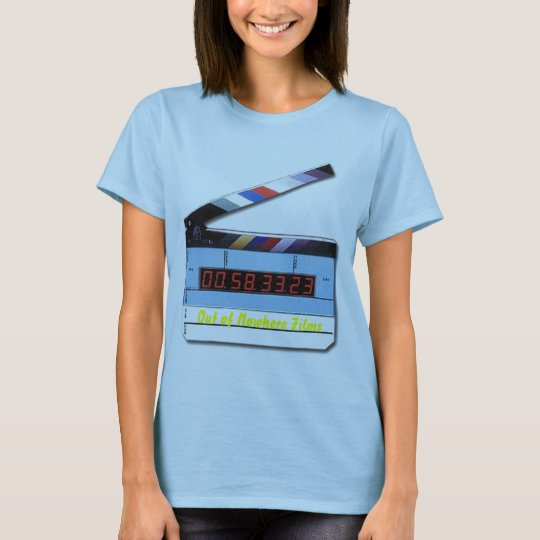 digital_film_slate, Out of Nowhere Films T-Shirt