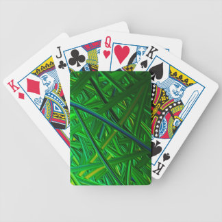 Digital Finger Painting Bicycle Playing Cards