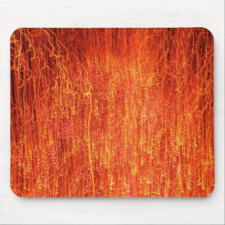 Digital Fire Mouse Pad