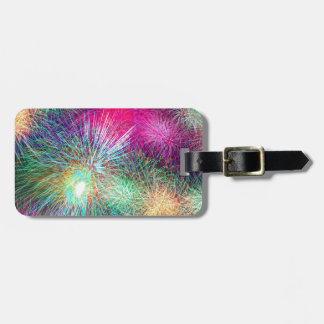 Digital Fireworks Tag For Bags