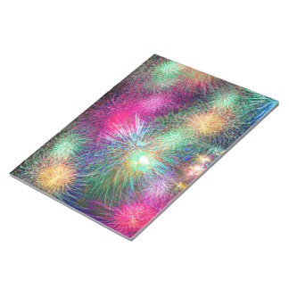 Digital Fireworks Note Pads