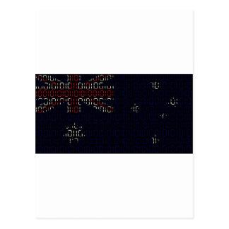 digital Flag (Australia) Postcard