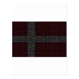 digital Flag (Denmark) Postcard