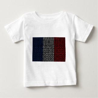 digital Flag france Infant T-shirt