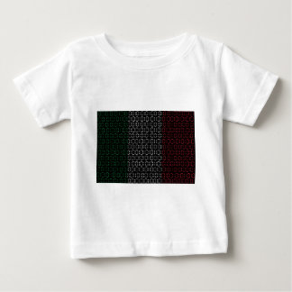 digital Flag  italy T-shirt