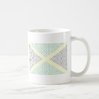 digital Flag (Jamaica) Coffee Mug