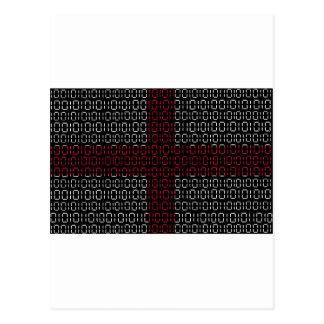digital Flag (St George's Cross) Postcard
