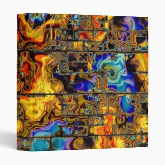 Digital Flames and Metal Matrix Vinyl Binder