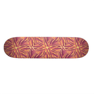 Digital Floral Decorative Skateboard