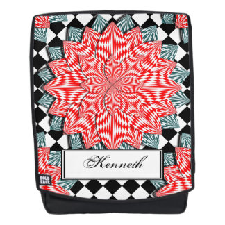 Digital Flower by Kenneth Yoncich Backpack
